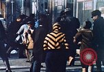 Image of burning building in riot after death of Martin Luther King Jr Washington DC USA, 1968, second 32 stock footage video 65675070919