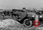 Image of 6-wheeled car Detroit Michigan USA, 1931, second 31 stock footage video 65675070928
