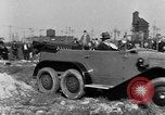 Image of 6-wheeled car Detroit Michigan USA, 1931, second 32 stock footage video 65675070928