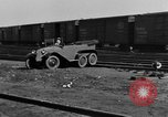 Image of 6-wheeled car Detroit Michigan USA, 1931, second 61 stock footage video 65675070928