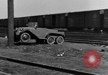 Image of 6-wheeled car Detroit Michigan USA, 1931, second 62 stock footage video 65675070928