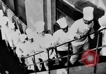 Image of calisthenics for cooks Berlin Germany, 1931, second 15 stock footage video 65675070931
