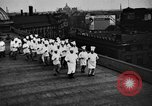 Image of calisthenics for cooks Berlin Germany, 1931, second 18 stock footage video 65675070931