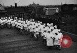 Image of calisthenics for cooks Berlin Germany, 1931, second 21 stock footage video 65675070931
