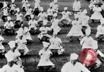 Image of calisthenics for cooks Berlin Germany, 1931, second 28 stock footage video 65675070931