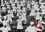 Image of calisthenics for cooks Berlin Germany, 1931, second 30 stock footage video 65675070931