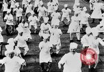 Image of calisthenics for cooks Berlin Germany, 1931, second 31 stock footage video 65675070931