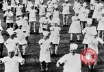 Image of calisthenics for cooks Berlin Germany, 1931, second 32 stock footage video 65675070931