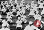 Image of calisthenics for cooks Berlin Germany, 1931, second 33 stock footage video 65675070931