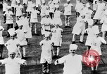 Image of calisthenics for cooks Berlin Germany, 1931, second 34 stock footage video 65675070931