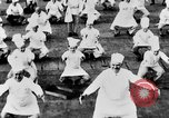Image of calisthenics for cooks Berlin Germany, 1931, second 35 stock footage video 65675070931