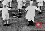 Image of calisthenics for cooks Berlin Germany, 1931, second 36 stock footage video 65675070931