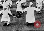 Image of calisthenics for cooks Berlin Germany, 1931, second 37 stock footage video 65675070931