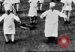 Image of calisthenics for cooks Berlin Germany, 1931, second 39 stock footage video 65675070931