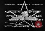 Image of Dynasphere Weston-super-Mare England United Kingdom, 1932, second 1 stock footage video 65675070938