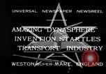 Image of Dynasphere Weston-super-Mare England United Kingdom, 1932, second 2 stock footage video 65675070938