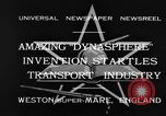 Image of Dynasphere Weston-super-Mare England United Kingdom, 1932, second 5 stock footage video 65675070938