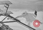 Image of rocket plane mail test Greenwood Lake New York USA, 1936, second 34 stock footage video 65675070941
