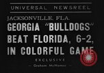 Image of American football match Jacksonville Florida USA, 1939, second 3 stock footage video 65675070955