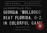 Image of American football match Jacksonville Florida USA, 1939, second 7 stock footage video 65675070955