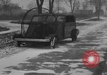 Image of air powered car Marysville Michigan USA, 1932, second 14 stock footage video 65675070962