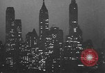 Image of skyscrapers New York City USA, 1932, second 32 stock footage video 65675070965