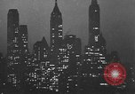 Image of skyscrapers New York City USA, 1932, second 33 stock footage video 65675070965