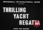 Image of yachts English Channel, 1951, second 2 stock footage video 65675070977