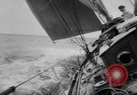 Image of yachts English Channel, 1951, second 24 stock footage video 65675070977