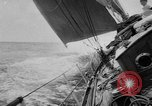 Image of yachts English Channel, 1951, second 25 stock footage video 65675070977