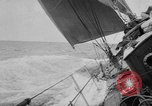 Image of yachts English Channel, 1951, second 28 stock footage video 65675070977