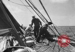 Image of yachts English Channel, 1951, second 33 stock footage video 65675070977