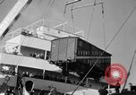 Image of train of gifts New York City USA, 1949, second 27 stock footage video 65675070978