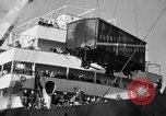 Image of train of gifts New York City USA, 1949, second 30 stock footage video 65675070978