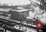 Image of train of gifts New York City USA, 1949, second 33 stock footage video 65675070978