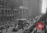 Image of train of gifts New York City USA, 1949, second 40 stock footage video 65675070978