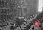 Image of train of gifts New York City USA, 1949, second 41 stock footage video 65675070978