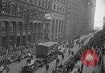 Image of train of gifts New York City USA, 1949, second 42 stock footage video 65675070978
