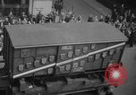 Image of train of gifts New York City USA, 1949, second 45 stock footage video 65675070978