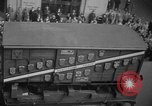 Image of train of gifts New York City USA, 1949, second 47 stock footage video 65675070978