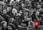 Image of train of gifts New York City USA, 1949, second 48 stock footage video 65675070978
