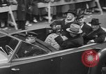 Image of train of gifts New York City USA, 1949, second 51 stock footage video 65675070978