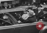 Image of train of gifts New York City USA, 1949, second 52 stock footage video 65675070978