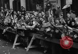 Image of train of gifts New York City USA, 1949, second 56 stock footage video 65675070978