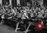 Image of train of gifts New York City USA, 1949, second 57 stock footage video 65675070978