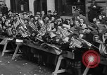 Image of train of gifts New York City USA, 1949, second 58 stock footage video 65675070978