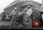 Image of dam under construction United States USA, 1956, second 37 stock footage video 65675070983
