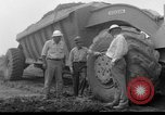 Image of dam under construction United States USA, 1956, second 40 stock footage video 65675070983