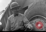 Image of dam under construction United States USA, 1956, second 44 stock footage video 65675070983