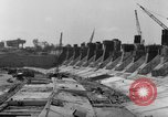Image of dam under construction United States USA, 1956, second 58 stock footage video 65675070983